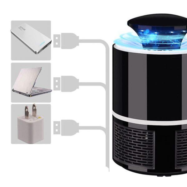 Lampe UV anti-moustiques