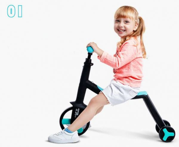 Scooter Multifonctions pour Enfants (Tricycle)