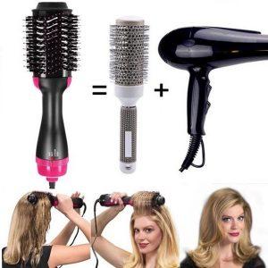 Brosse Sèche-cheveux Électrique