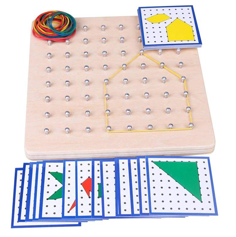 Géoboard Planche de Géométrie à Élastiques