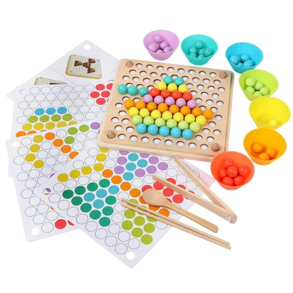 jouet-de-triage-couleurs-Montessori-bebe3