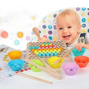 Jouet de tri de couleurs pour enfant