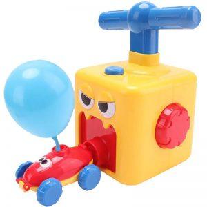 Pompe et Voitures à Ballon