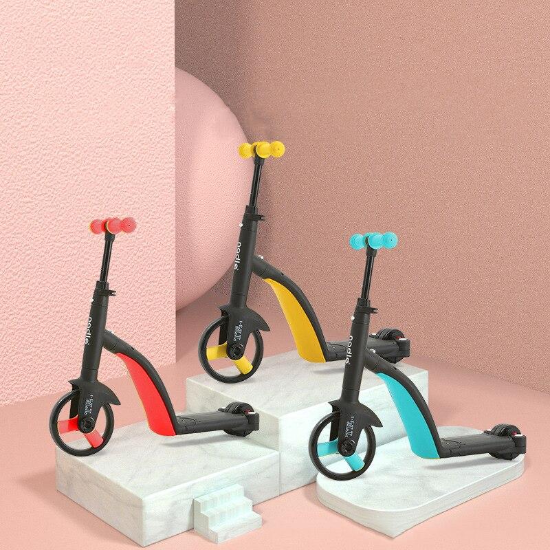 8-en-1-Scooters-multifonctions-pour-enfants-Scooter-Tricycle-bébé-Balance-vélo-tour-sur-jouets-enfants