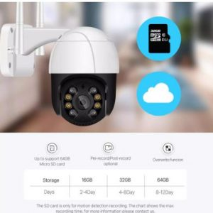 Caméra de surveillance IP avec wifi