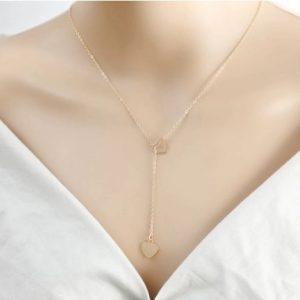 Collier avec cœur à pendentif pour Femmes