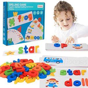 Jeu d'épellation cognitive d'alphabets