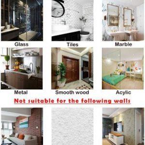Crochets Muraux Adhésifs Réutilisables