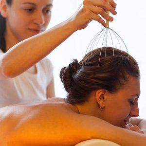 Pieuvre De Massage De Tête