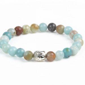 Bracelet Amazonite Femme