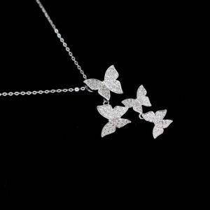 Collier Femme Papillon