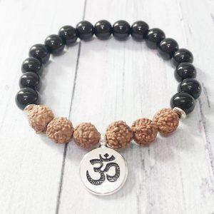Bracelet de Graines de Rudraksha