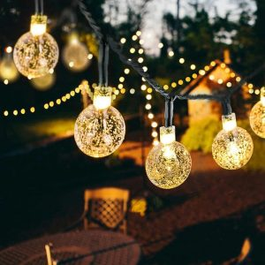Guirlandes Solaires Extérieur LED