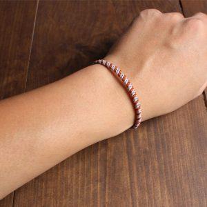 Bracelet Corde Tressée