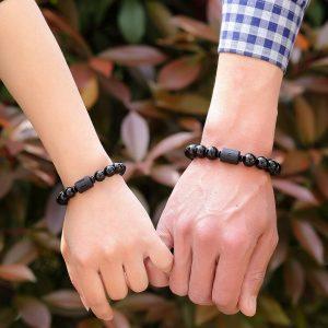 Bracelet Duo Couple Dragon Phénix