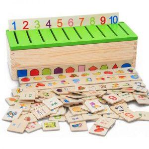 La Boite de Classification Montessori