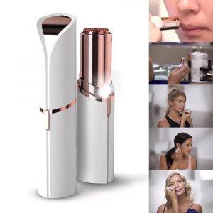 Épilateur Électrique en Forme de Rouge à Lèvres