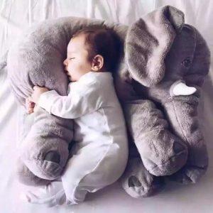 Oreiller en Forme d'Eléphant pour Bébé16