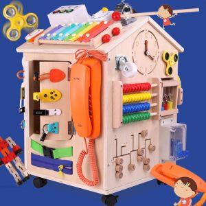 Maison d'activités Montessori pour enfants