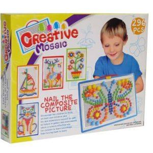 Puzzle Créatif avec des Clous de Champignon