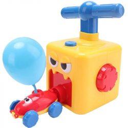 pompe et vouture à ballon pour enfant